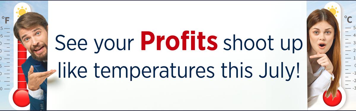 Profits-shoot-up-temperatures